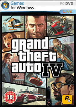Grand Theft Auto IV PC Games and Downloads Cover Art