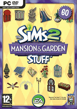 The Sims 2 Mansions and Garden Stuff PC Games and Downloads Cover Art