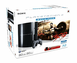 Sony PlayStation 3 80GB Console with 300 PlayStation 3 Cover Art
