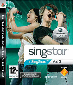 SingStar Vol.3 PlayStation 3 Cover Art