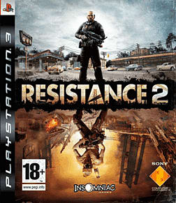 Resistance 2 PlayStation 3 Cover Art