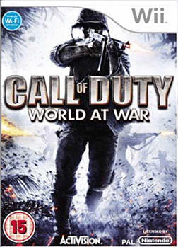 Call of Duty: World at War Wii Cover Art