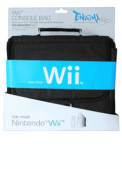 Enigma Wii Console Bag: Black Accessories 