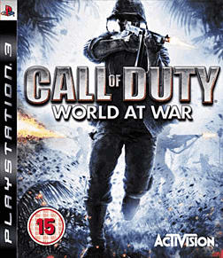 Call of Duty: World at War PlayStation 3 Cover Art