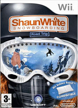 Shaun White Snowboarding: Road Trip (Wii Balance Board Compatible) Wii Cover Art