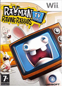 Rayman Raving Rabbids TV Party (Wii Balance Board Compatible) Wii Cover Art