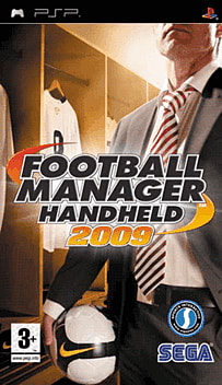 Football Manager 2009 Handheld PSP Cover Art
