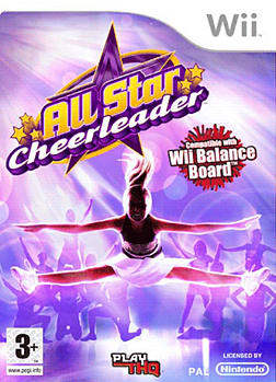 All Star Cheerleader (Wii Balance Board Compatible) Wii Cover Art