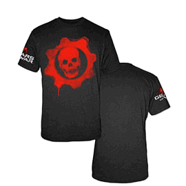 Gears of War Omen Red Logo T-Shirt (L) Clothing and Merchandise