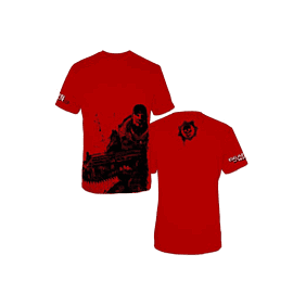 Gears of War 2 Red Marcus T-Shirt (XL) Clothing and Merchandise