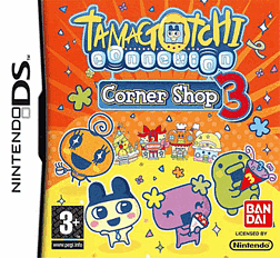 Tamagotchi Connexion Corner Shop 3 DSi and DS Lite Cover Art