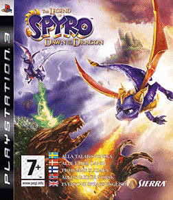 The Legend of Spyro: Dawn of the Dragon PlayStation 3 Cover Art