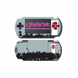 Wrapstar Terratag Kangemuska Graphic Skin for PSP Slim & Lite Accessories