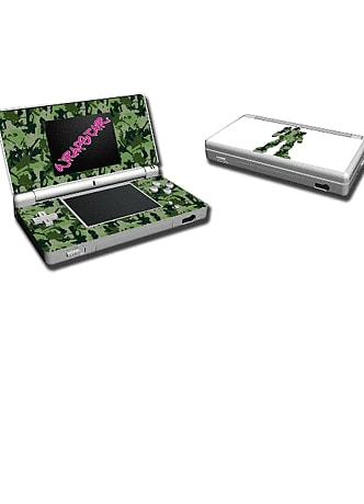 Video Games Wrapstar Terratag Mechaflage Graphic Skin for DS Lite
