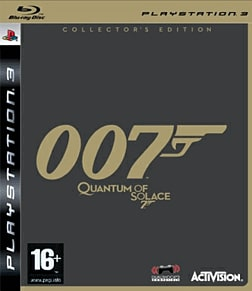 Quantum of Solace Collector's Edition PlayStation 3 Cover Art