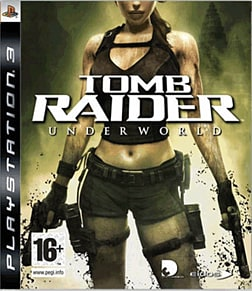 Tomb Raider: Underworld PlayStation 3 Cover Art