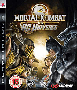 Mortal Kombat Vs DC Universe PlayStation 3 Cover Art