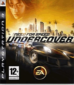 Need for Speed: Undercover PlayStation 3 Cover Art
