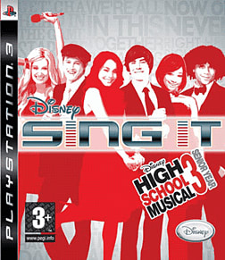 Disney Sing It! High School Musical 3: Senior Year PlayStation 3 Cover Art