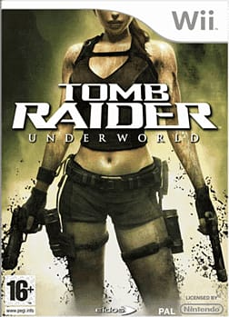 Tomb Raider: Underworld Wii Cover Art