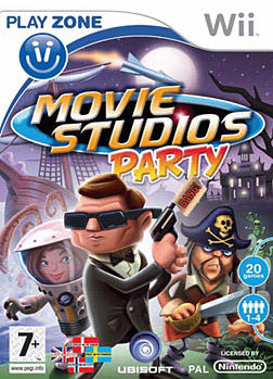 Movie Studios Party Wii Cover Art