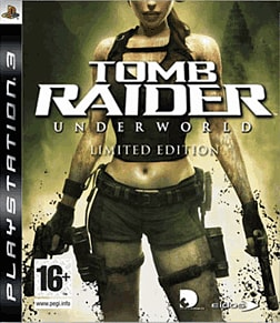 Tomb Raider: Underworld GAME Exclusive Limited Edition PlayStation 3 Cover Art