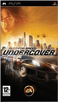 Need for Speed: Undercover PSP Cover Art