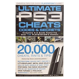 Ultimate PS3 Cheats and Codes Volume 1 Strategy Guides and Books