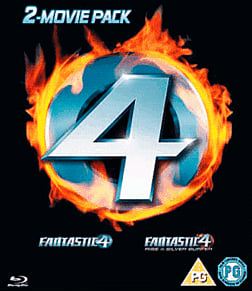 Fantastic Four/ Fantastic Four: Rise of the Silver Surfer (Blu-ray) Blu-ray