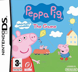 Peppa Pig DSi and DS Lite Cover Art