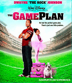 The Game Plan Blu-ray