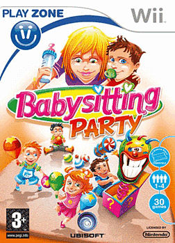 Baby Sitting Party (Wii Balance Board Compatible) Wii Cover Art