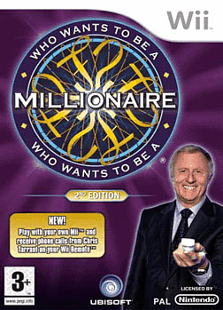 Who Wants to Be A Millionaire 2 Wii Cover Art