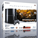 Sony PS3 80GB with Resistance 2 PlayStation 3