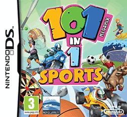 101 in 1 Megamix Sports DSi and DS Lite Cover Art