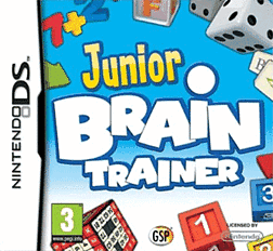 Junior Brain Trainer DSi and DS Lite Cover Art