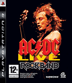 AC/DC Live: Rockband Song Pack PlayStation 3 Cover Art