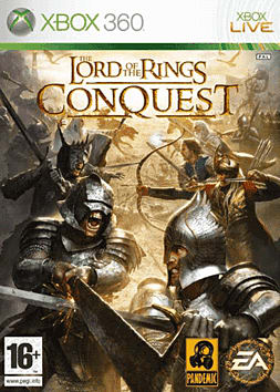 Lord of The Rings: Conquest Xbox 360 Cover Art