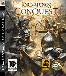Lord of the Rings: Conquest PlayStation 3 Cover Art