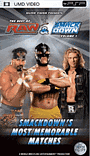 WWE Smackdown's Most Memorable Matches PSP
