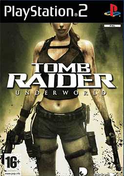 Tomb Raider: Underworld PlayStation 2 Cover Art