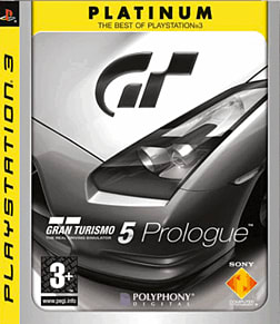 Gran Turismo 5 Prologue Platinum PlayStation 3 Cover Art