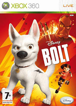 Disney's Bolt Xbox 360 Cover Art