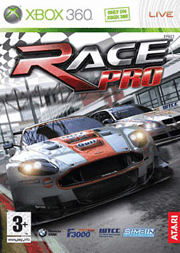 Race Pro Xbox 360 Cover Art