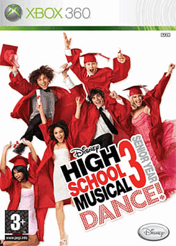 High School Musical 3: Senior Year Dance with Dancemat Xbox 360