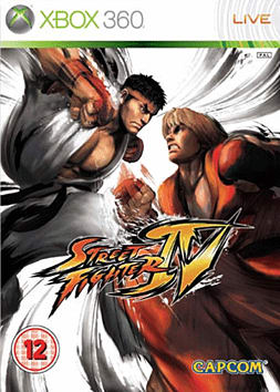 Street Fighter IV Xbox 360 Cover Art