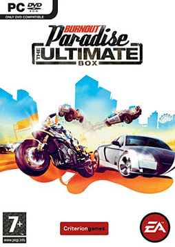 Burnout Paradise: The Ultimate Box PC Games and Downloads Cover Art
