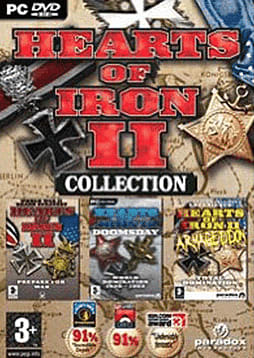 Hearts Of Iron Collection (HOI 2 + Doomsday + Armagedon) PC Cover Art