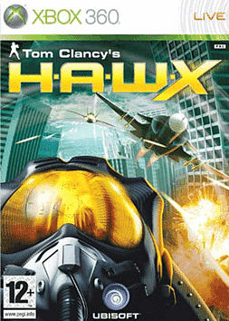 Tom Clancy's H.A.W.X Xbox 360 Cover Art
