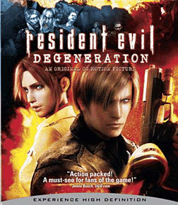 Resident Evil: Degeneration (Blu-ray) Blu-ray